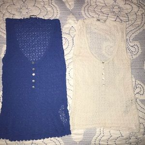 Two Zara tops